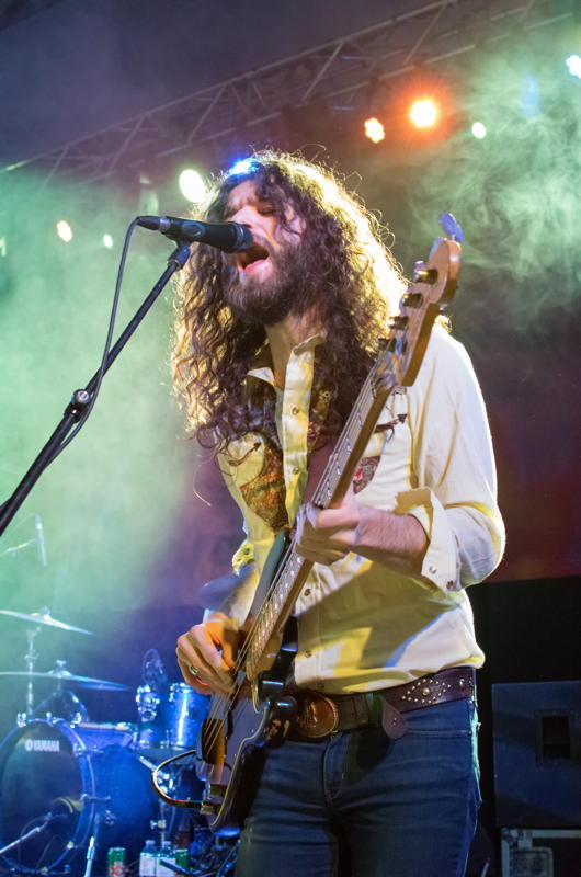 The Sheepdogs in concert at Northern College in Kirkland Lake, Ontario, February 21, 2015. Photo by Garth Gullekson